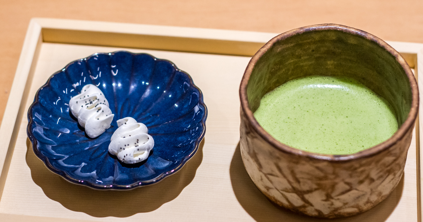 Ceremonial matcha at Stonemill Matcha Cafe in San Francisco