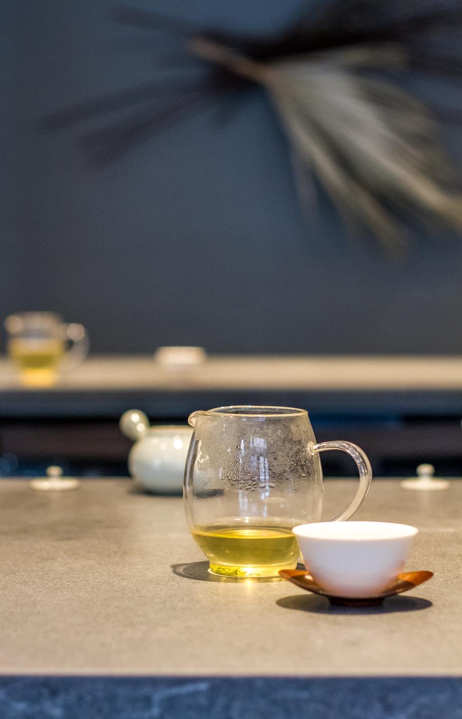 Korean green tea at 29b Tea House in NYC