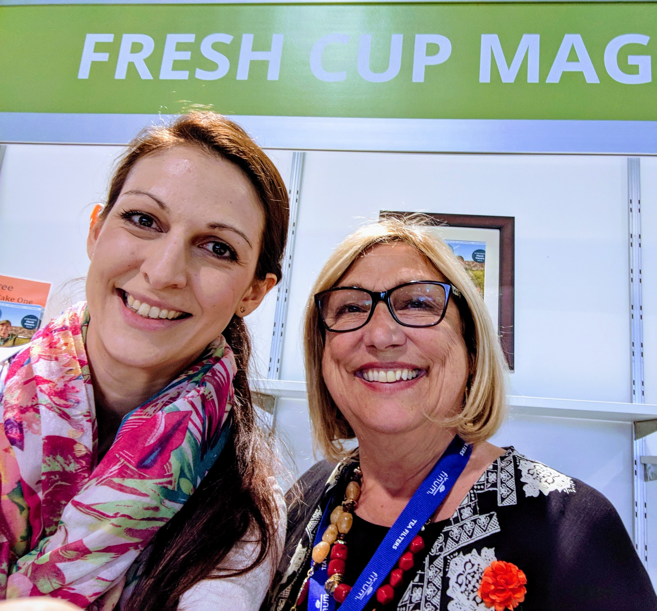 I had the pleasure to meet Fresh Cup Magazine Publisher Jan Weigel.