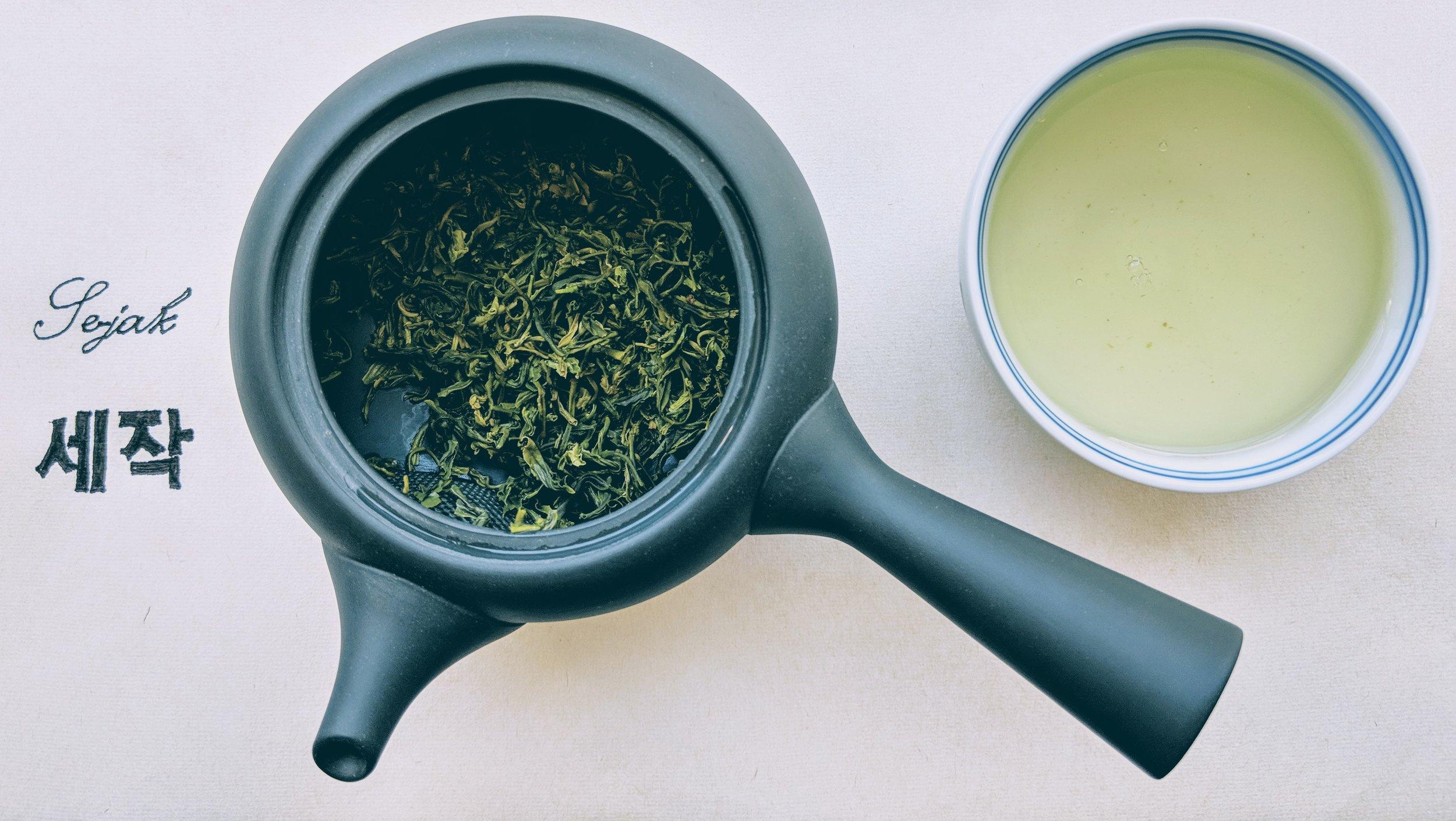 Se jak Korean green tea