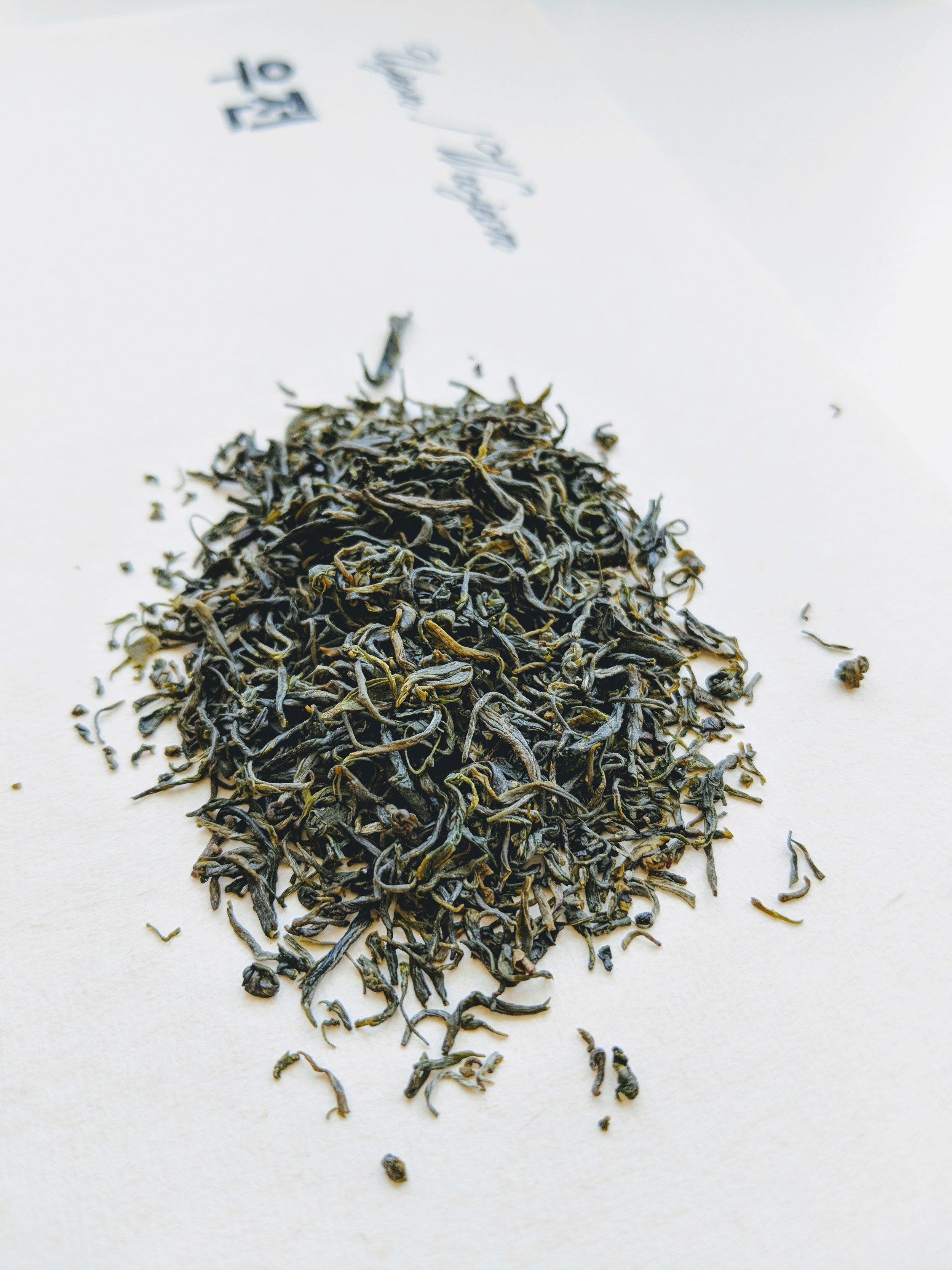 Woo jeon Korean green tea