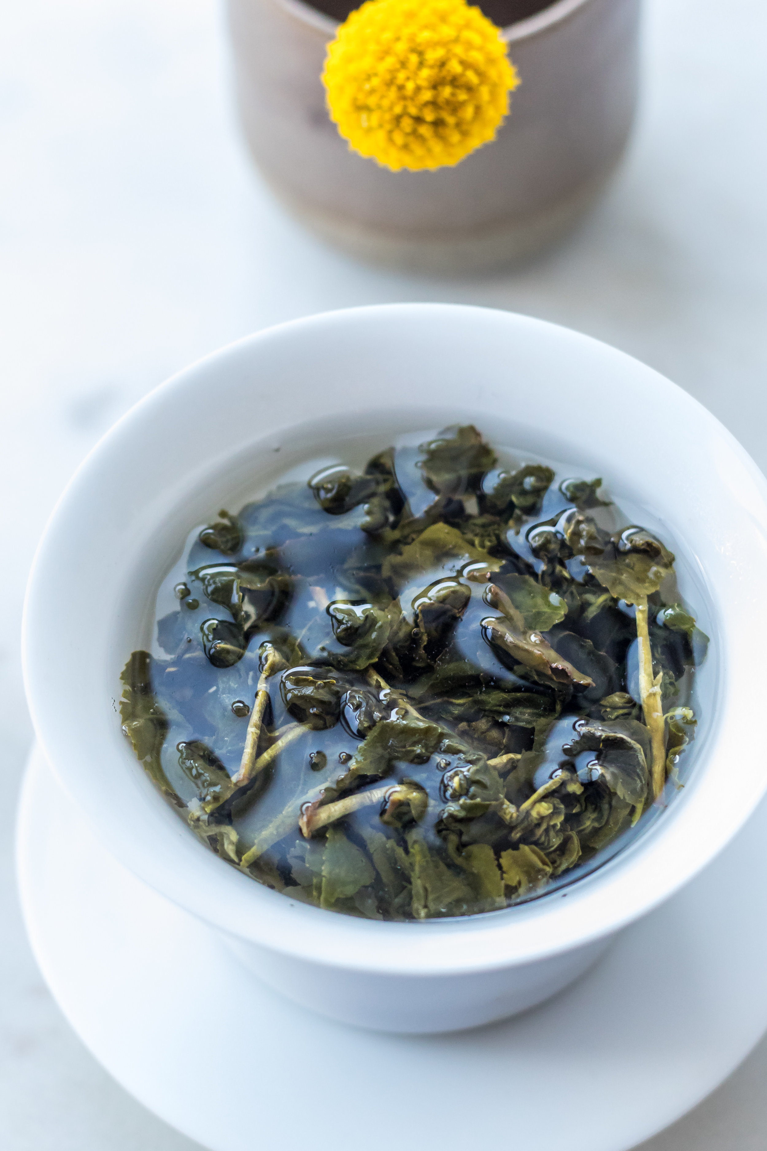 Jin Xuan oolong aged in whiskey barrels