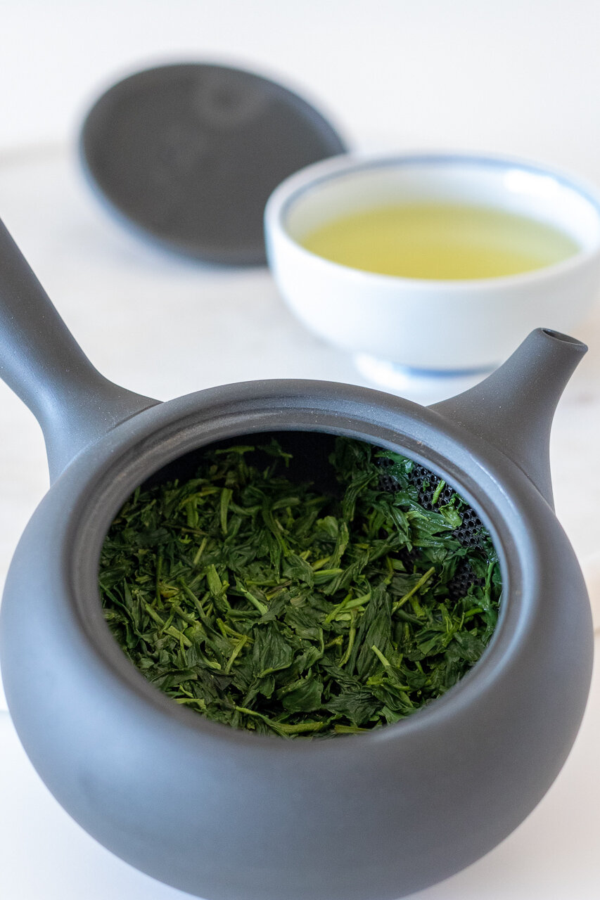 My tasting notes: competition-grade gyokuro. The Tea Squirrel