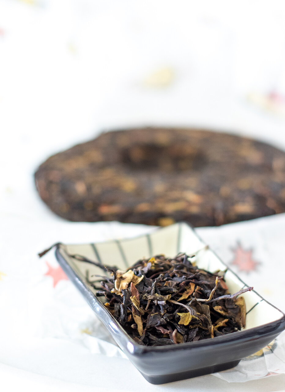 My tasting notes: 2018 Wild Raw Puerh from Lincang