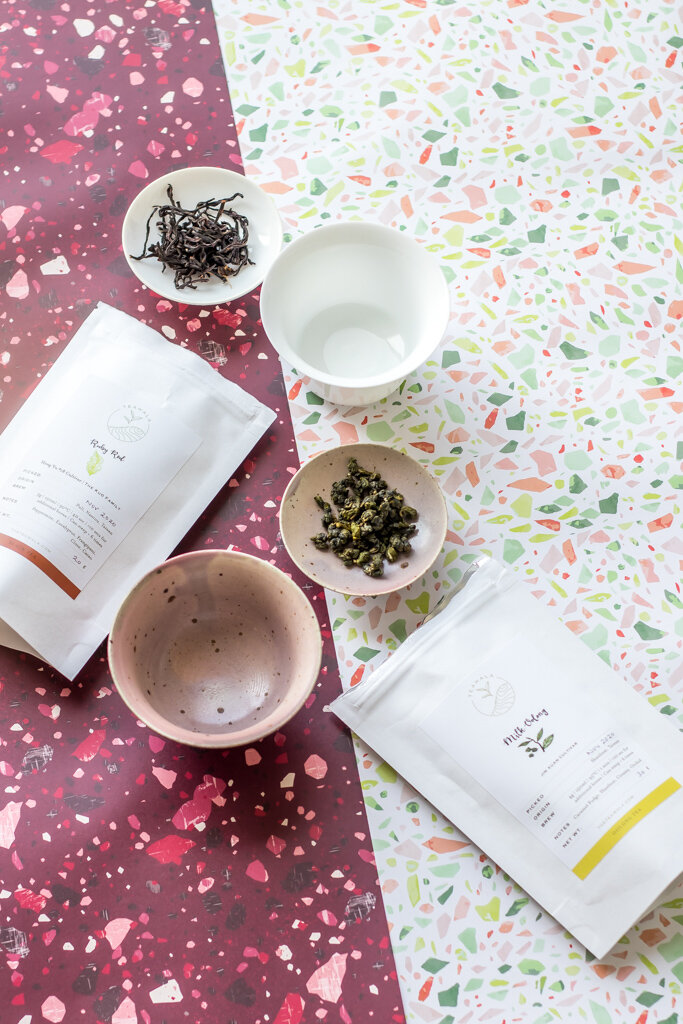 Teawala Ruby Red and Milk Oolong. Do you really need to take tea tasting notes? The Tea Squirrel blog.