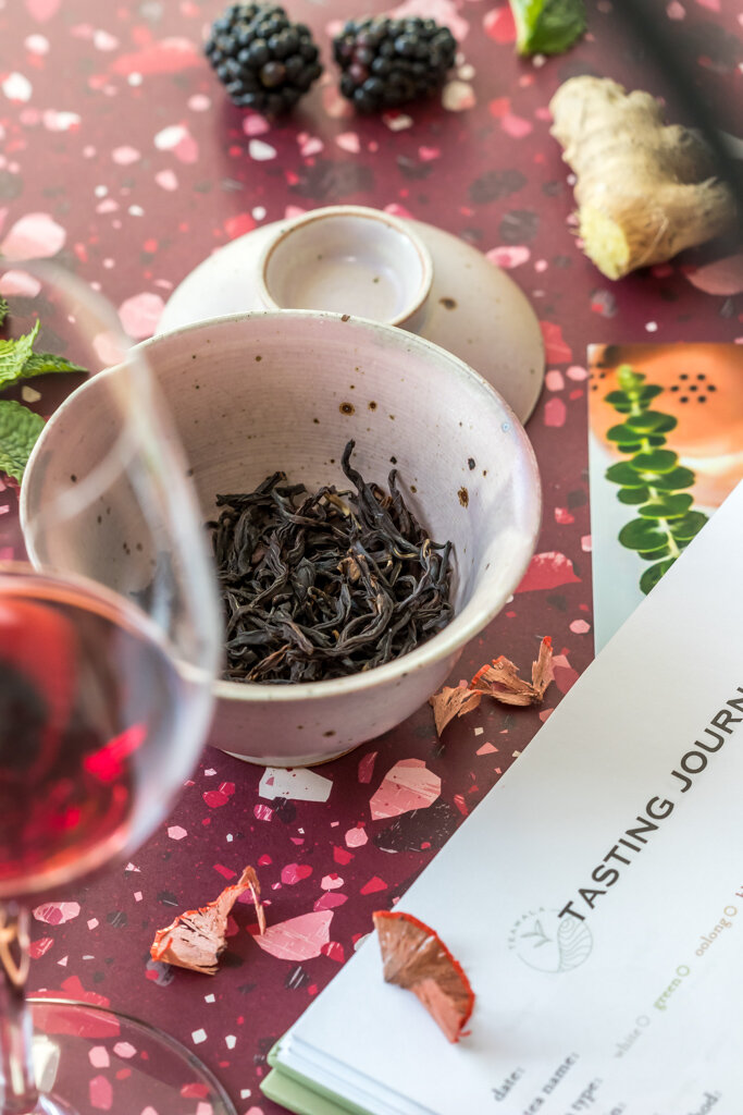 Teawala Ruby Red. Do you really need to take tea tasting notes? The Tea Squirrel blog.