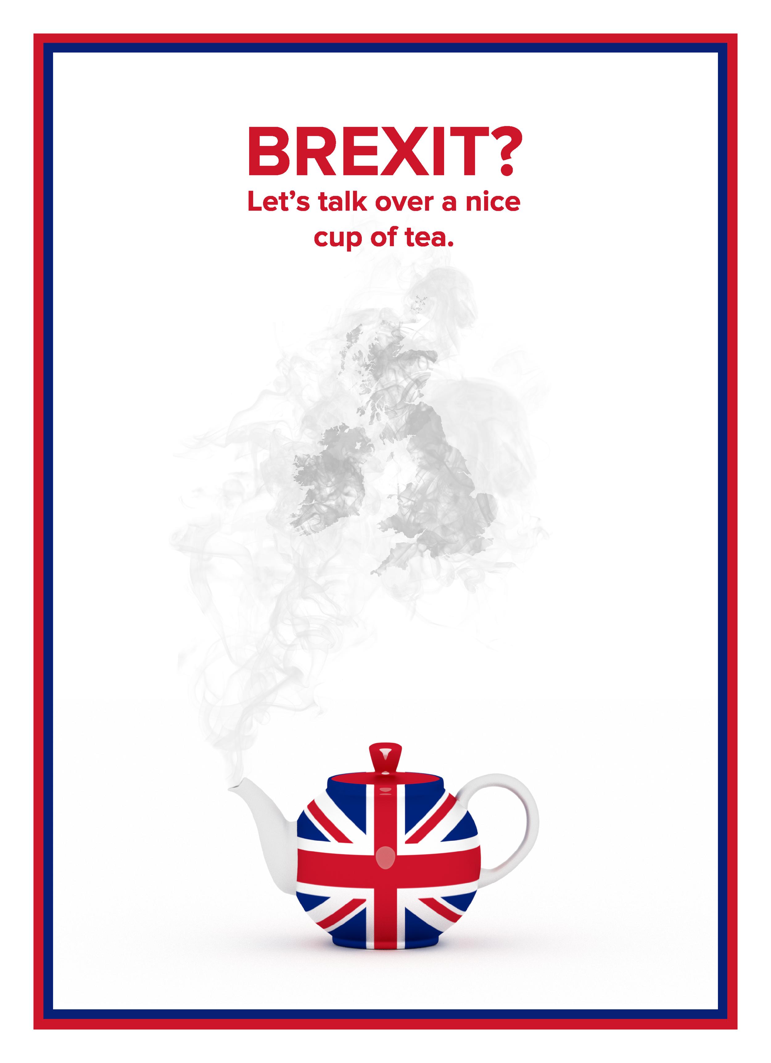 The proper British way.