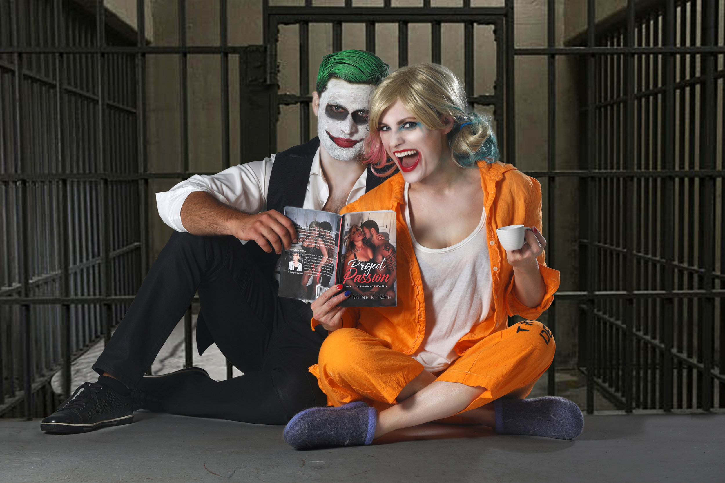 web Harley and Joker read Project Passion.jpg