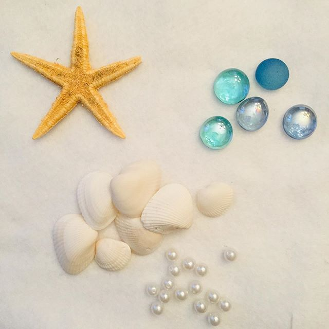 🧜‍♀️💙⚓️Summer craft idea- use a plastic tierra from a party store, grab some shells and glass marbles or sea glass and start glueing...glue gun works  best! Wear in the pool or just for fun. For kids and adults too! #summerfuncrafts #mermaidcradts #kidssummercrafts #afterschoolenrichment #craftforkids #craftoftheday