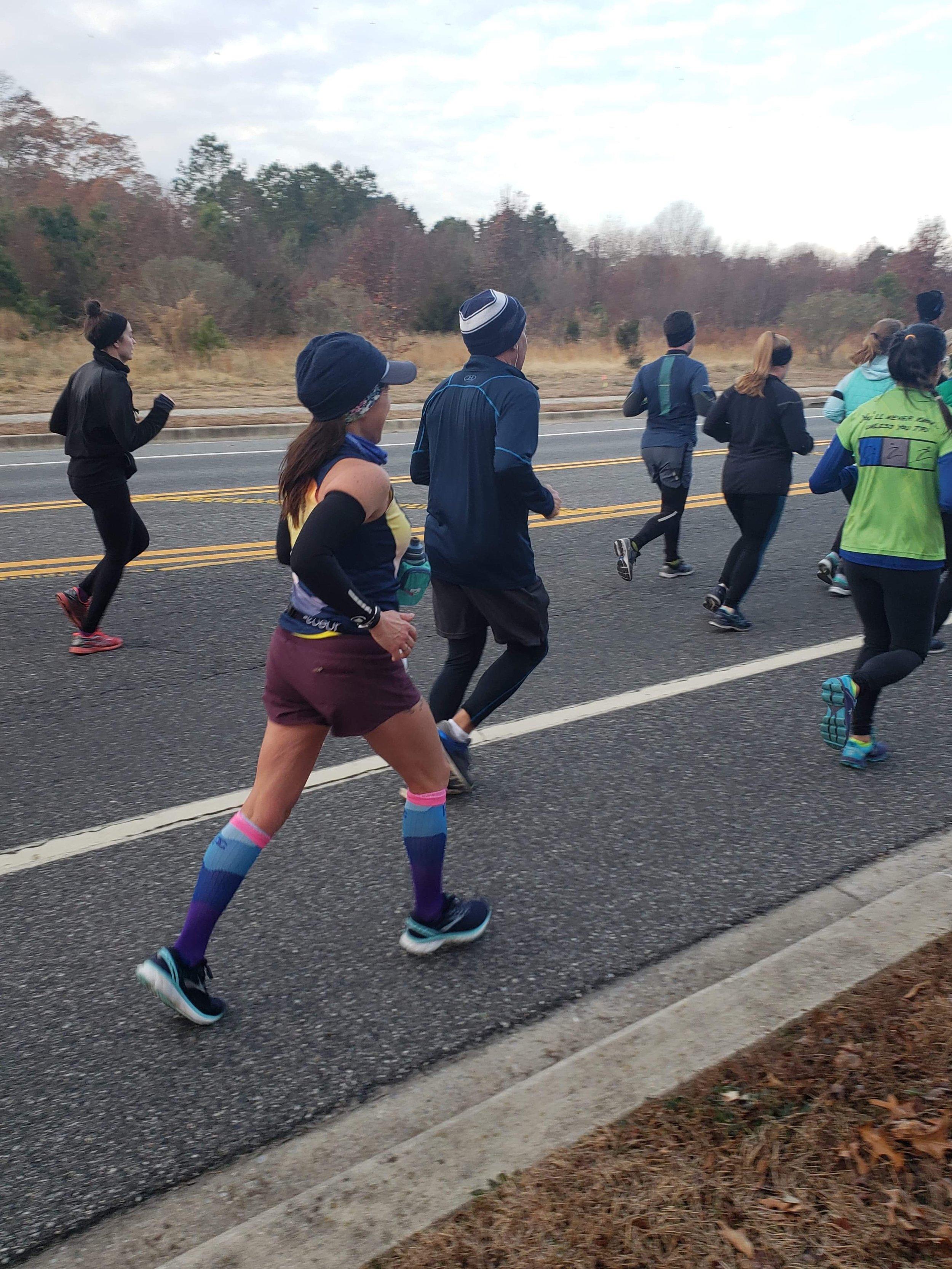 Rehoboth Half Marathon, December 2018