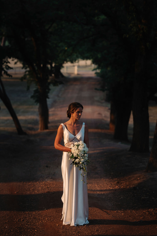 Mira Mandic gown