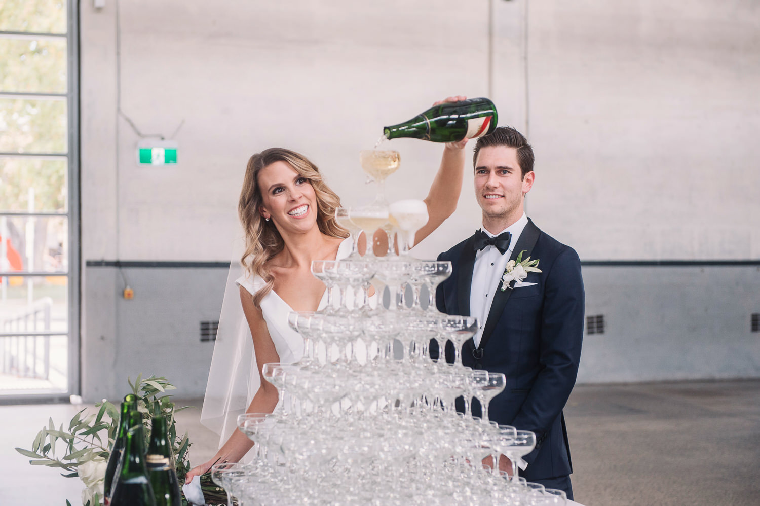 wedding_champagne_tower