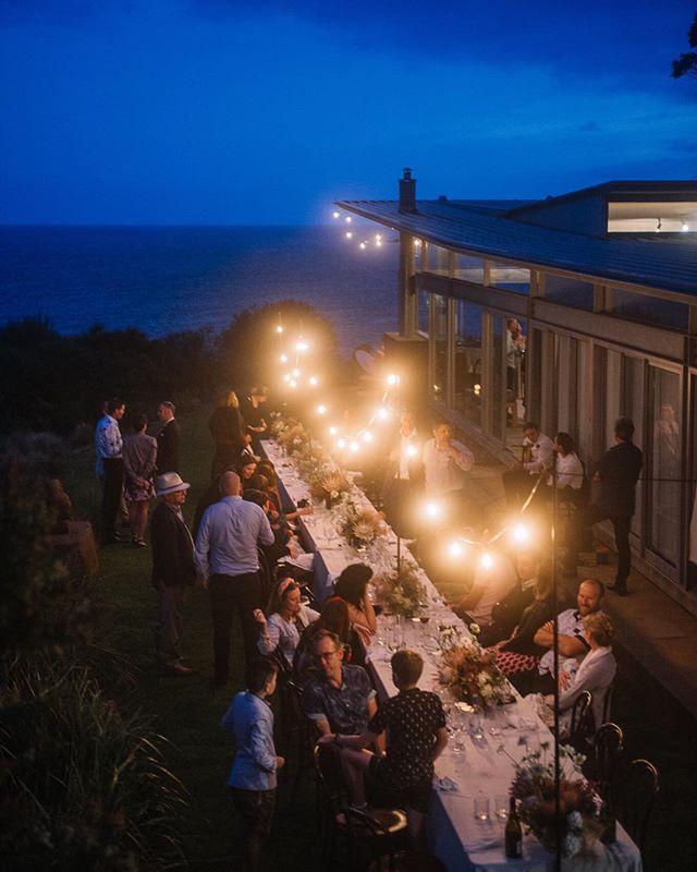A perfect east coast Tassie evening @avalonretreats with Briana + John . . . . Styling: @bek_burrows  #tasmanianwedding #tasmanianweddingphotographer #eastcoasttasmania