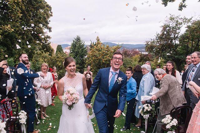 Happiness looks like... // Amelia + David . . . . #tasmanianwedding #tasmanianweddingphotographer