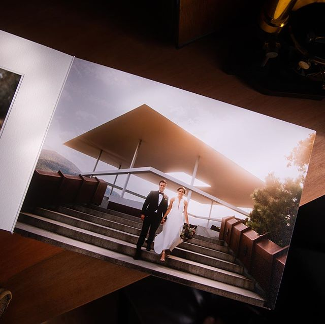 A little peek at a new sample album I'll be sharing more of soon. I've used @queensberrynz for more than 10 years and it still feels like Christmas morning each time a fresh album arrives at my door. I've not seen a better way to preserve and share photos. #weddingalbum #queensberryalbums
