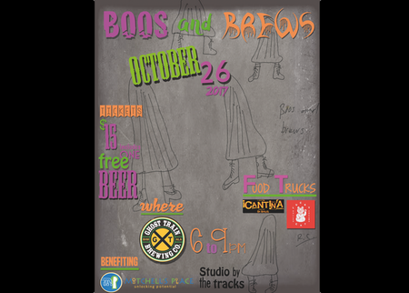 Boos and Brews - Oct 26th from 6-9pm at Ghost Train Brewery