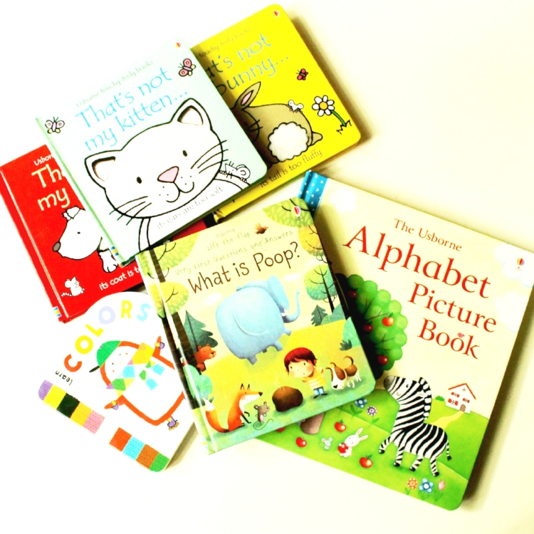 Shop the books above:  What is Poop? /  Little Red Penguin Color Book /  Alphabet Picture Book /  That's Not My Series