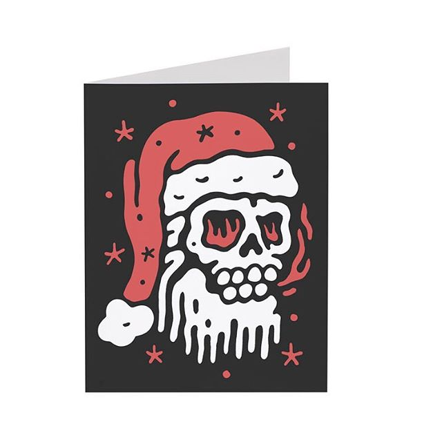 Two weekends until Christmas. Got something for the little grubs? Get your orders in now so they'll make it to you in time. And don't forget our limited edition SANTA SKULL christmas cards to complete your gift. - www.nightcrawlerco.com.au #nightcrawlerco #kidswear #christmas #christmascard #santaskull #bahhumbug #grinch #hohoho #foodcoma