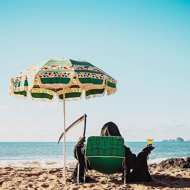 Summer holiday vibes via @iamtheswimreaper - #nightcrawlerco #iamtheswimreaper #summerholiday #beach #beachholiday