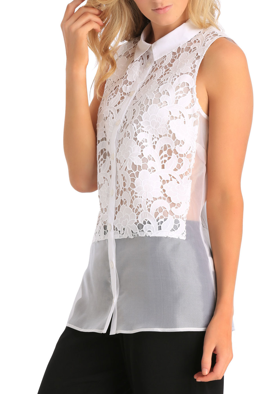 Trent Nathan lace panel dress $129