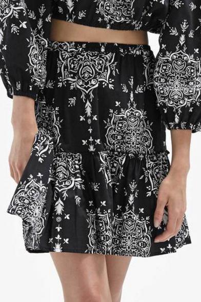 Steele Stella black sanchee skirt $159