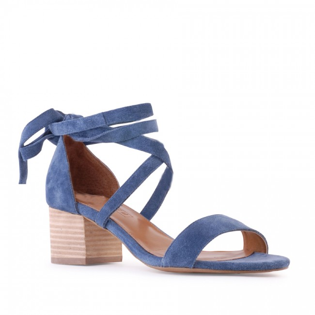 Siren shoes Nevada denim suede $159.95