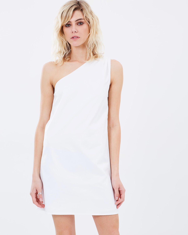 Atmos & Here garland one shoulder dress $79.95