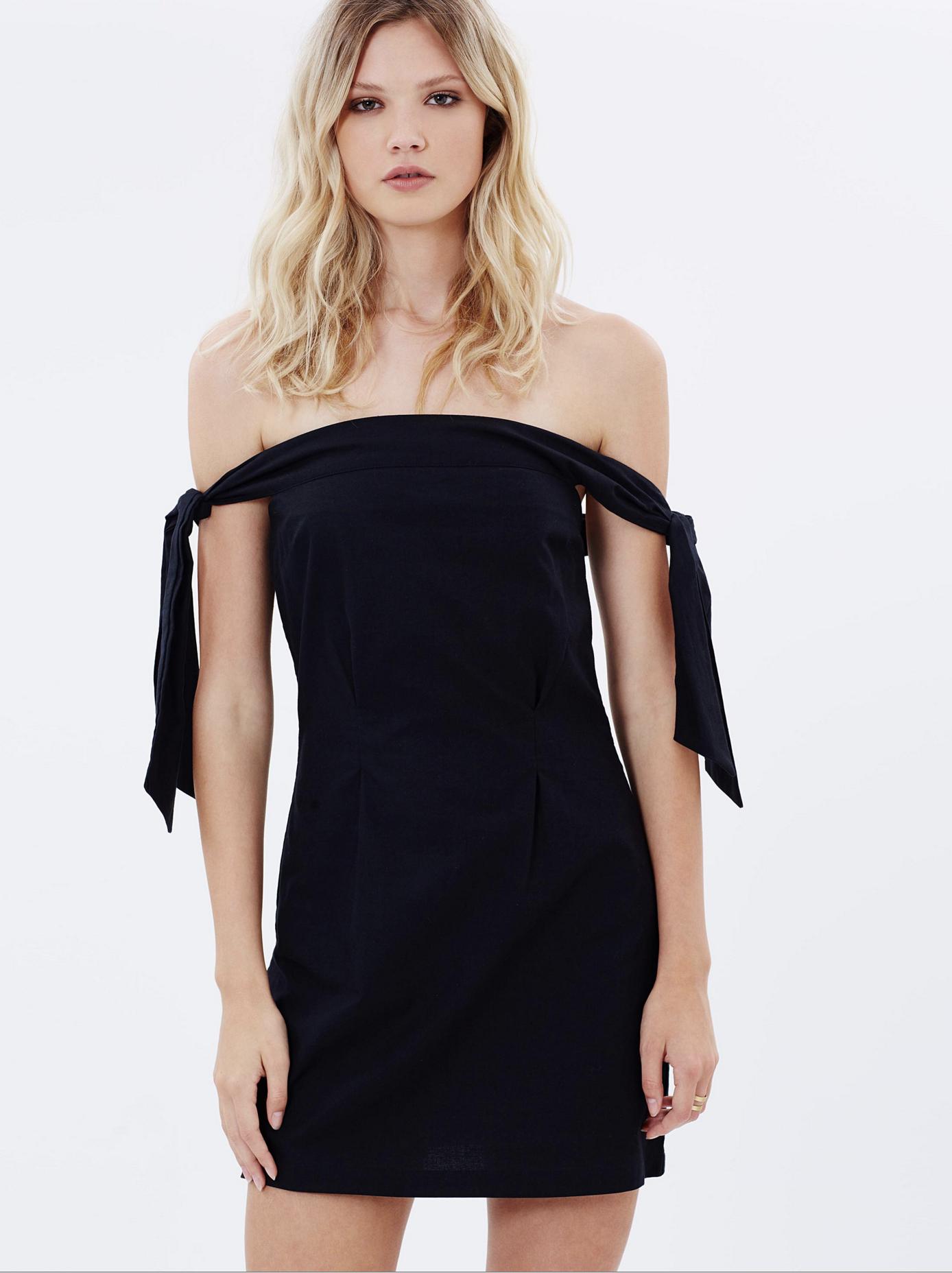 MLM New York shoulder dress $159