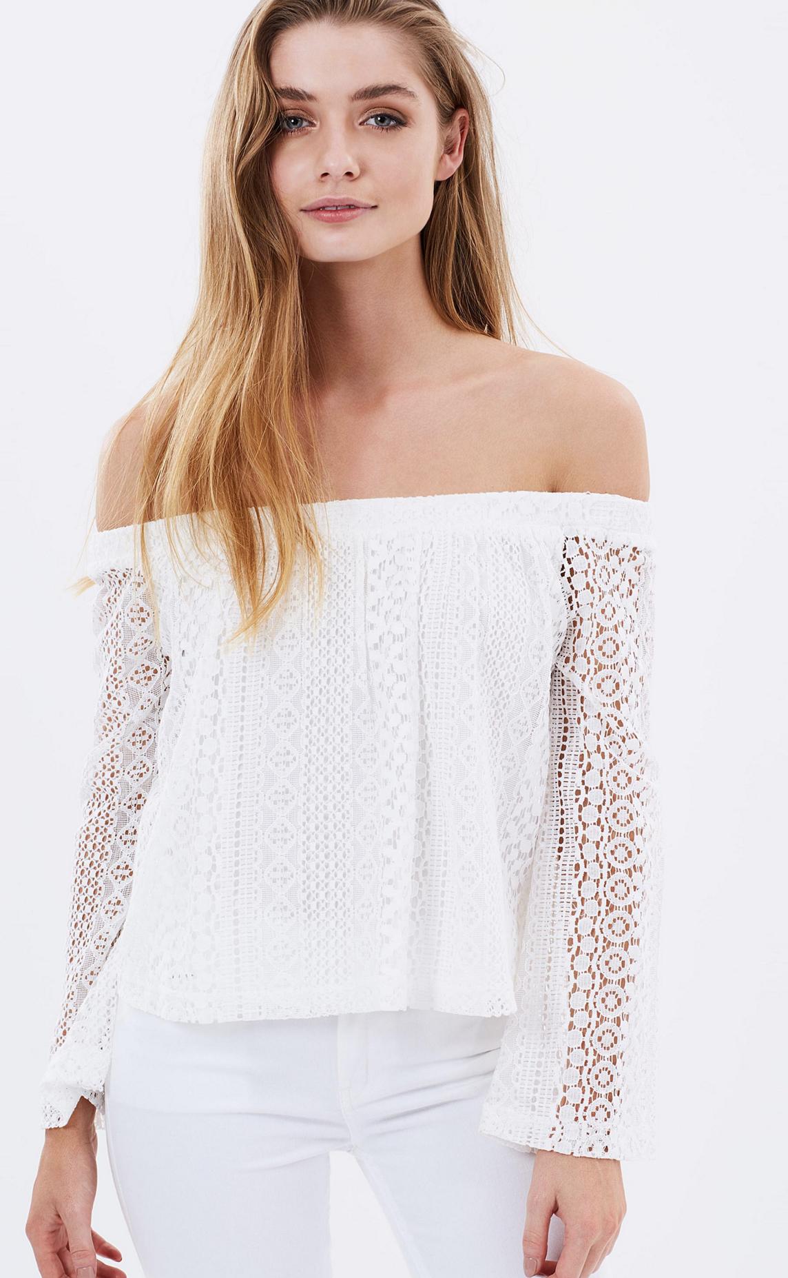 Sass Klara lace top $69.95