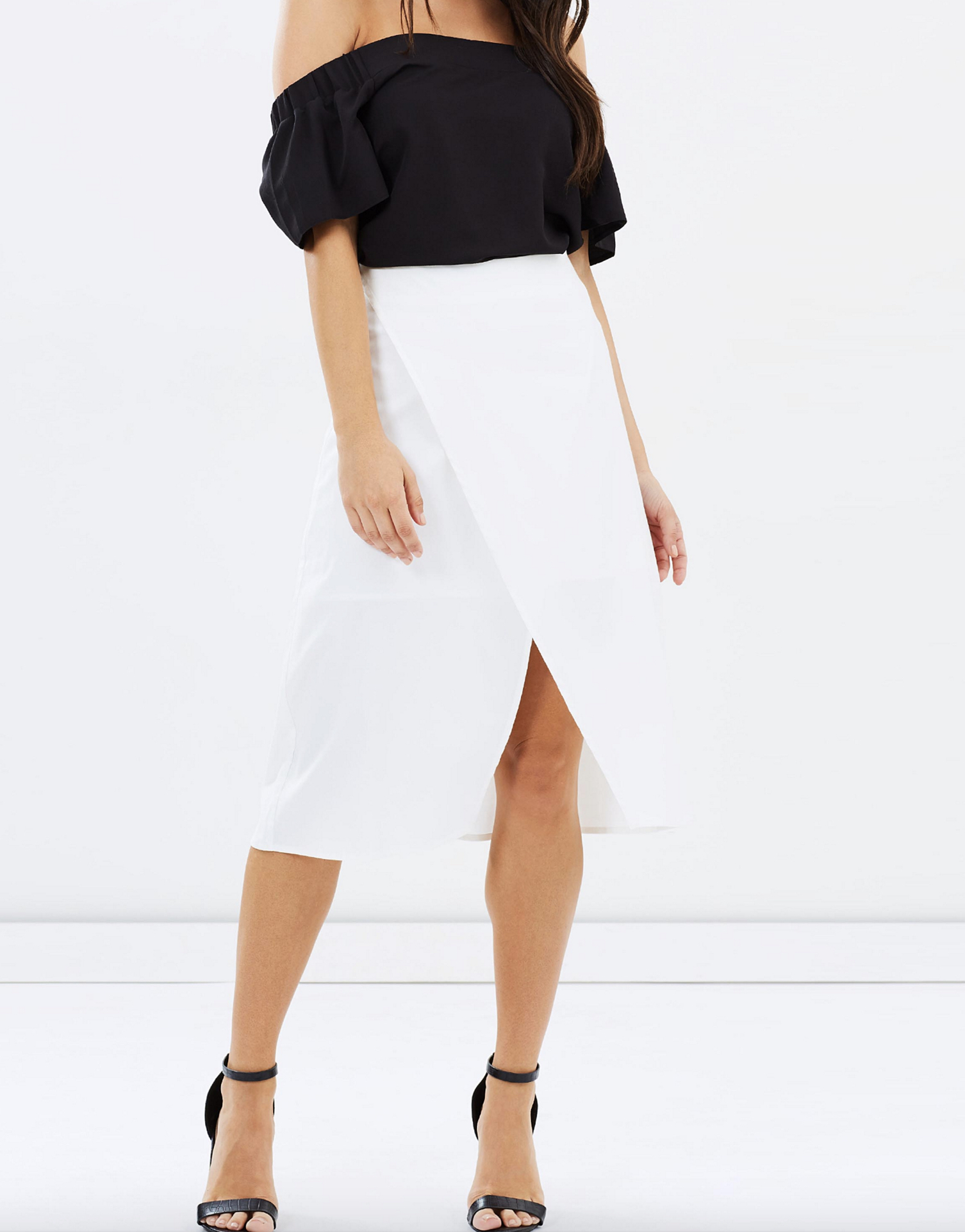 Atmos & Here Melani wrap skirt $59.95