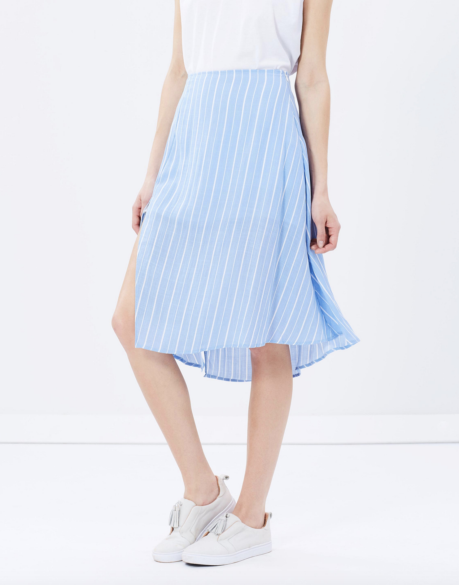 Staple the Label striped skirt $89.95