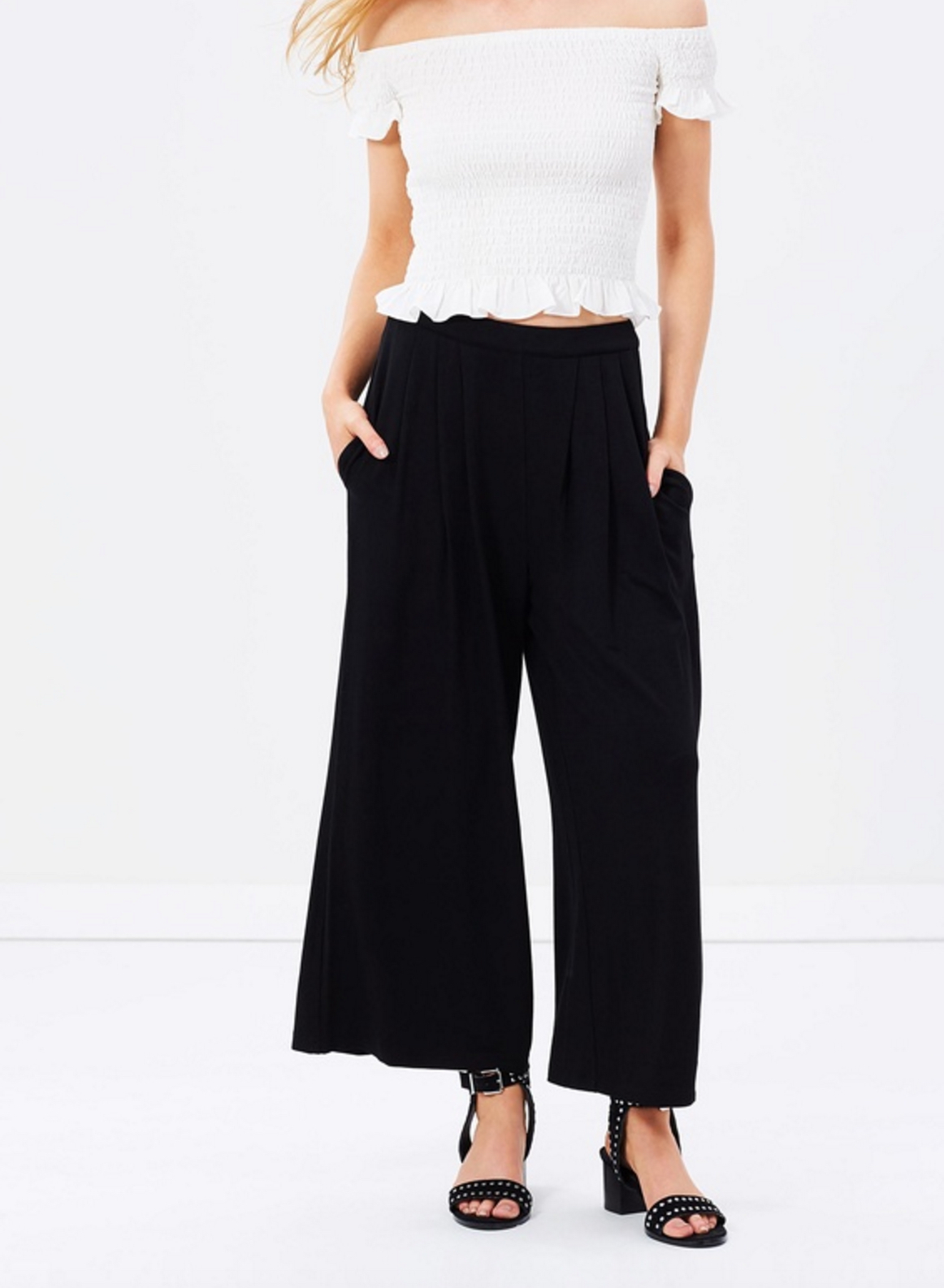 Atmos & Here Justify Jersey culottes $69.95
