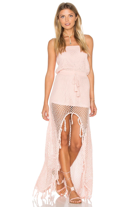Mink Pink woven together dress $183