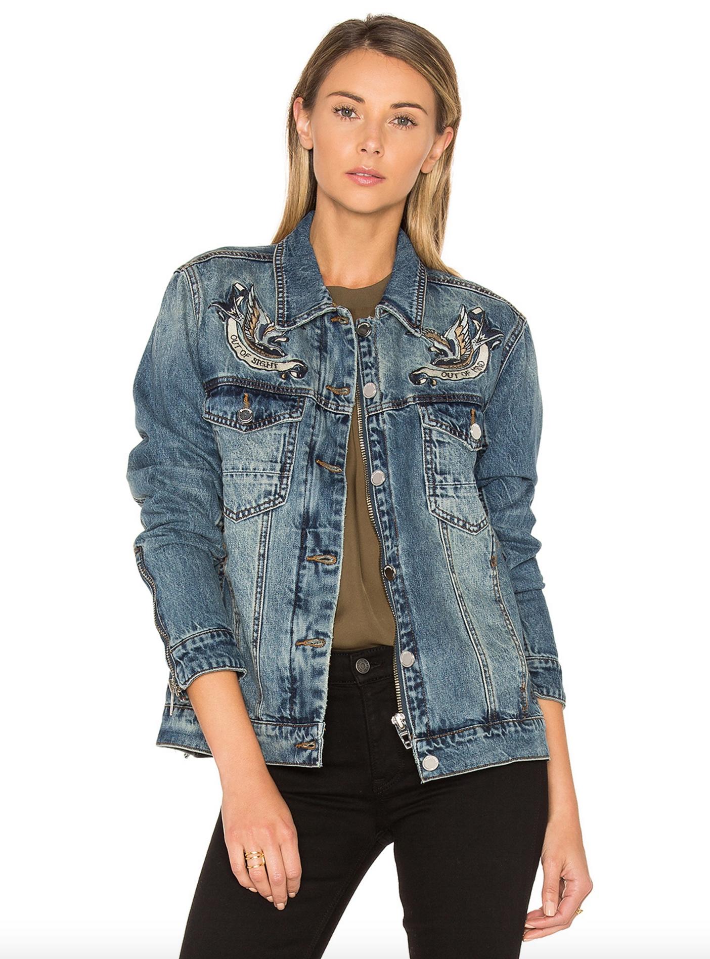 Blank NYC denim jacket $169