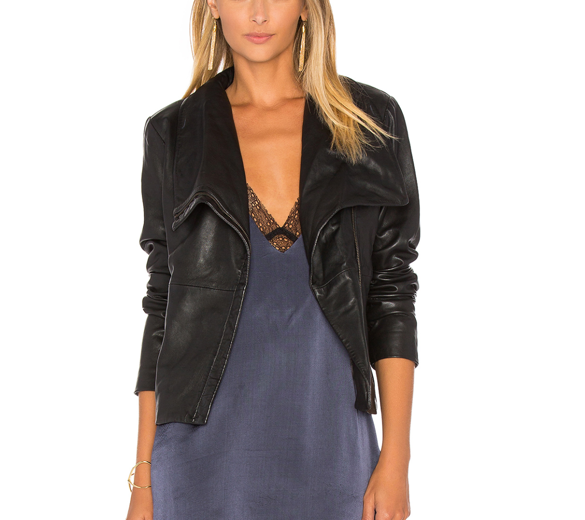 BB Dakota newell leather jacket $400