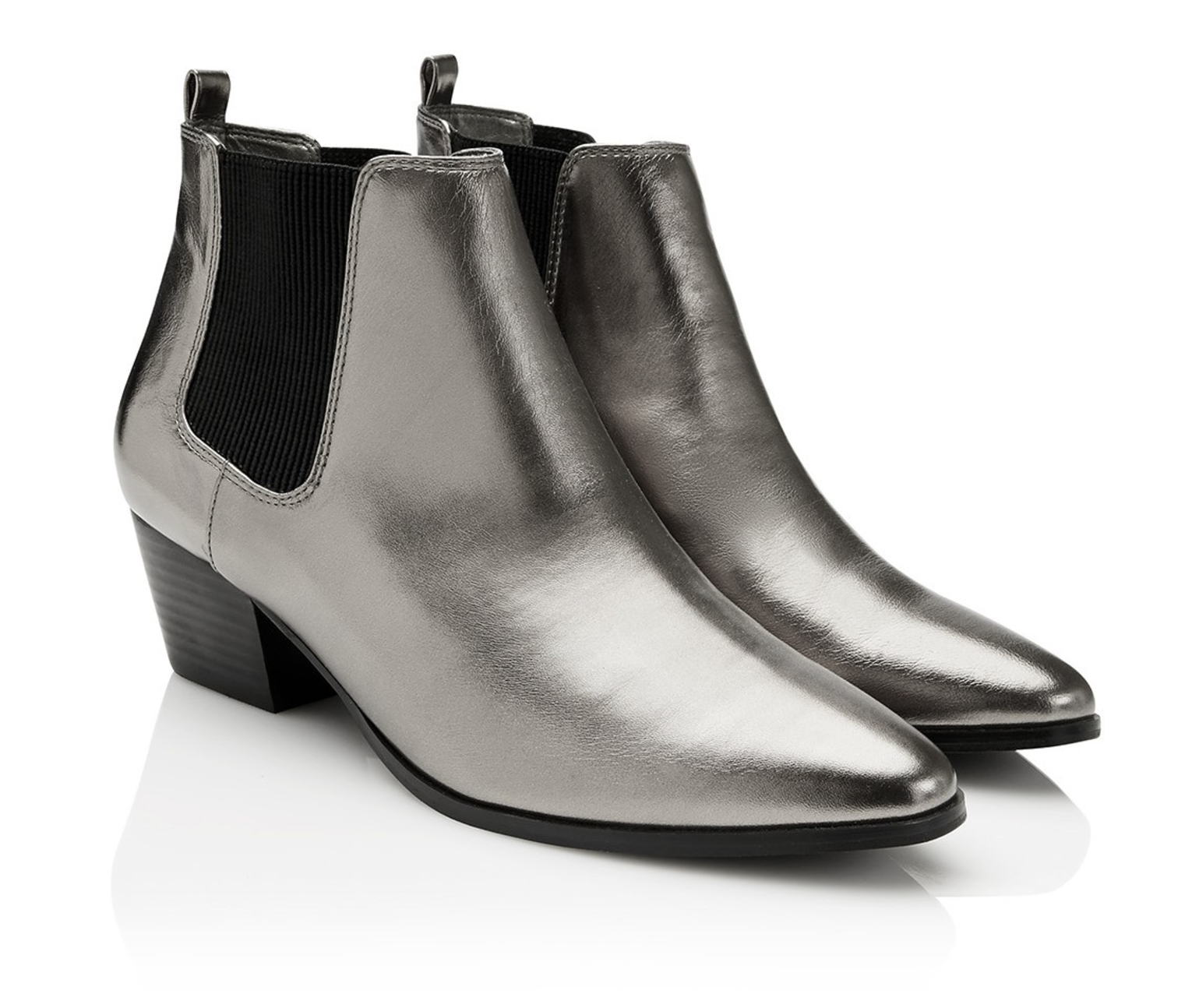 Sportsgirl Blake metallic ankle boot $89.95