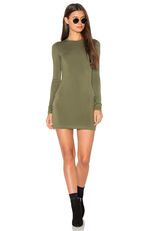 Blq Basiq long sleeve mini dress $111