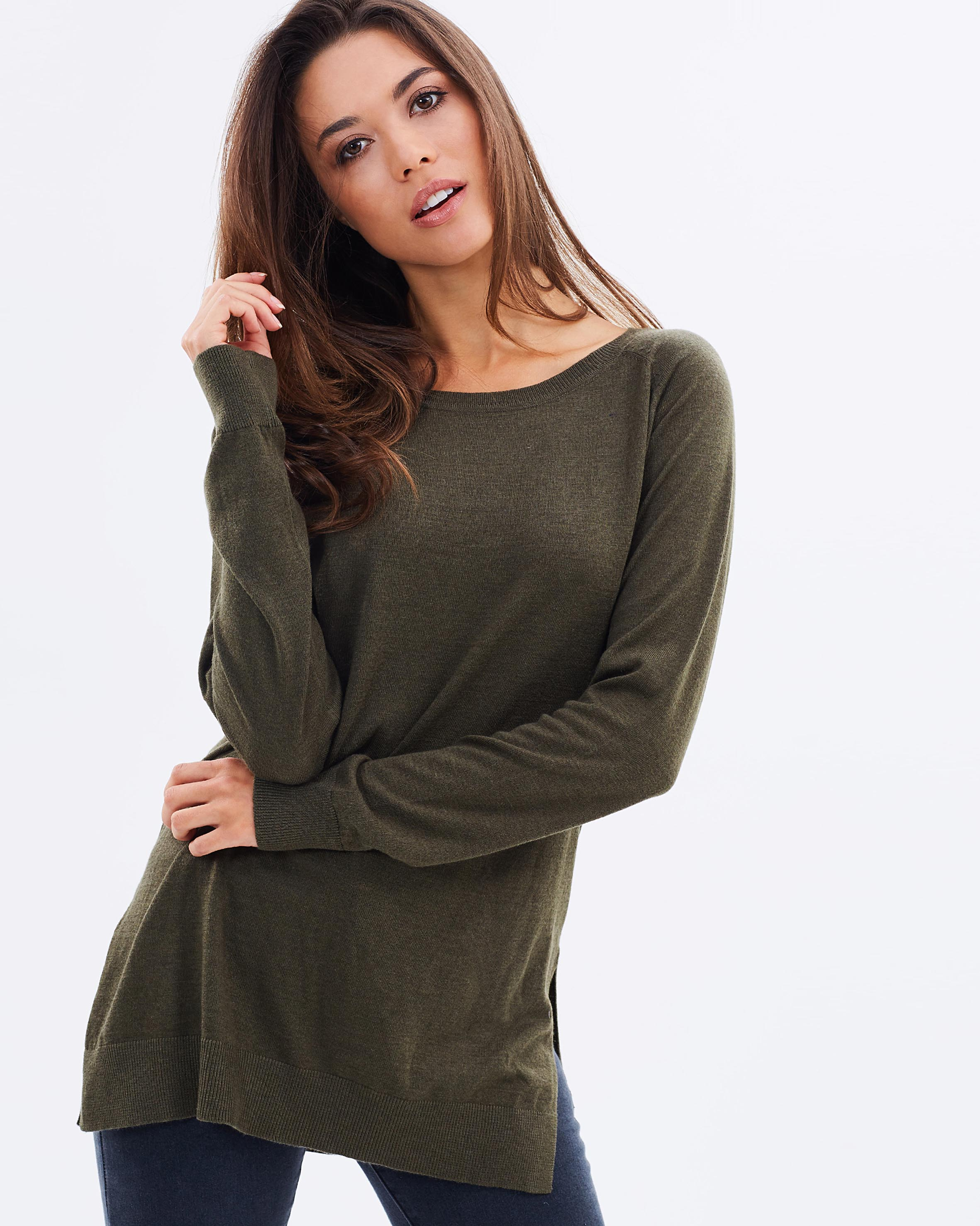 Atmos & Here Caitlyn knit top $49.95