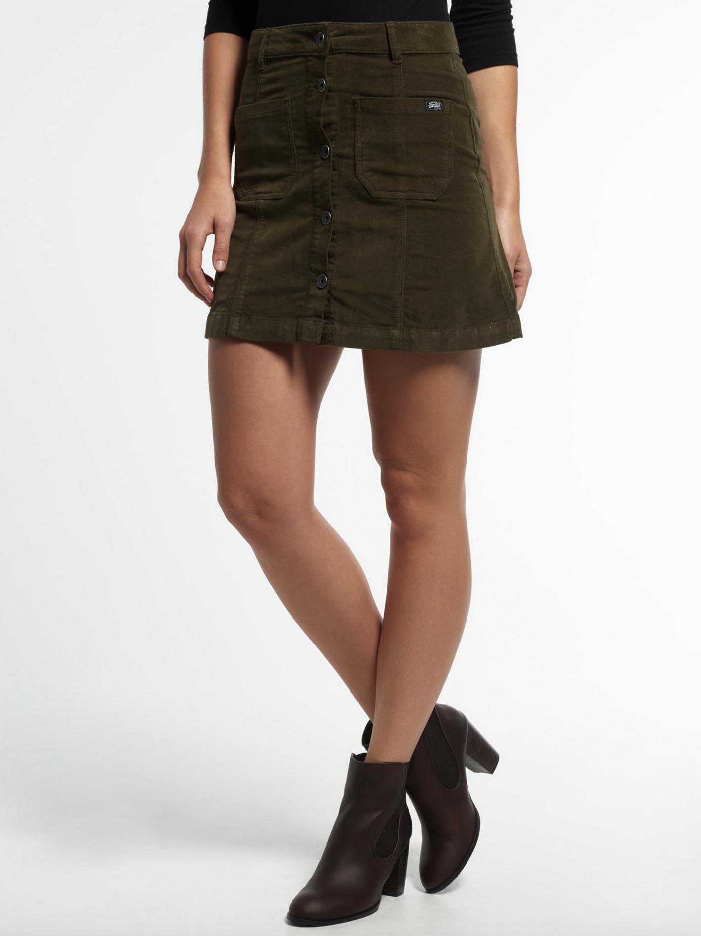 Superdry A-line skirt $74.99
