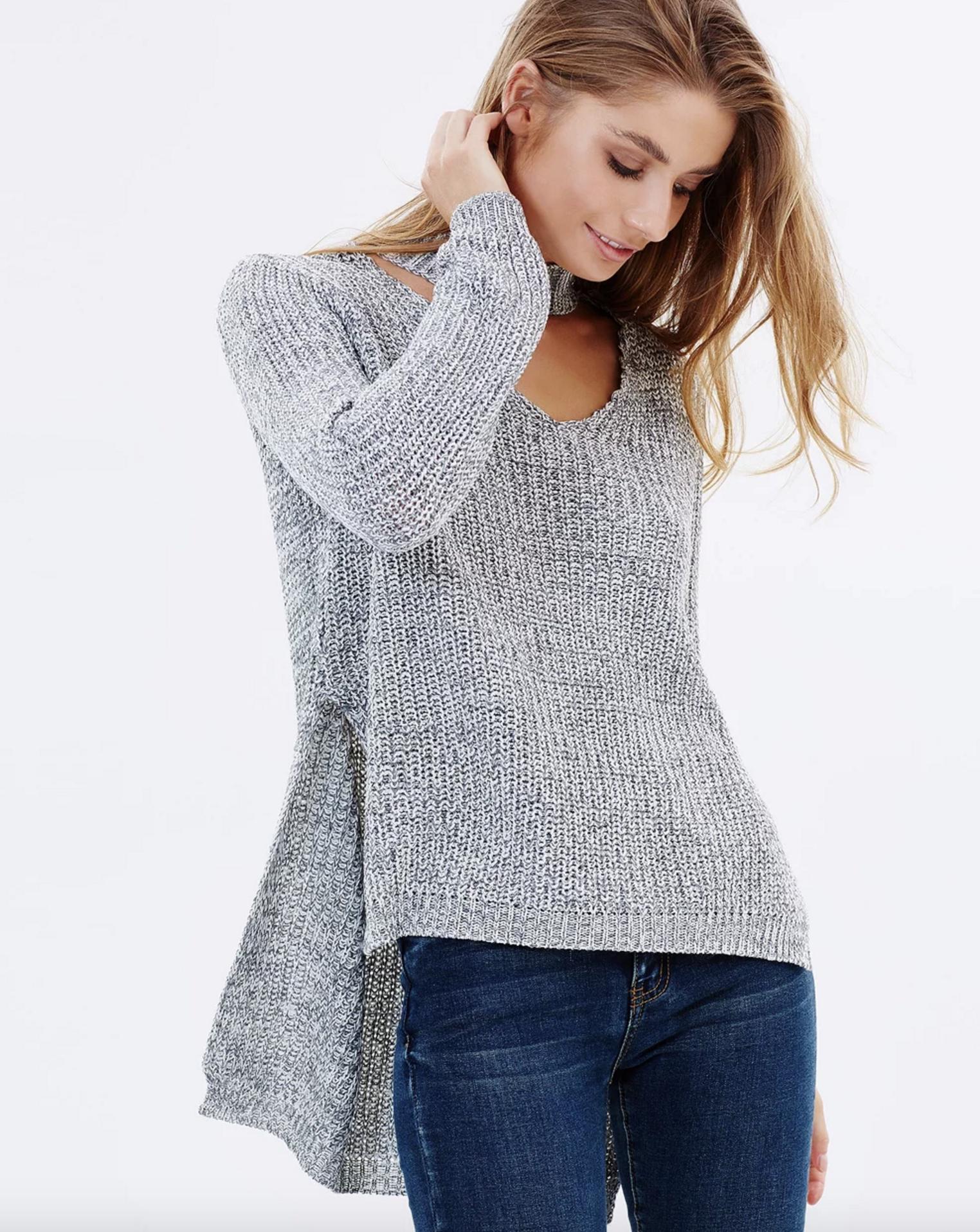 Sass justice keyhole knit $79.95