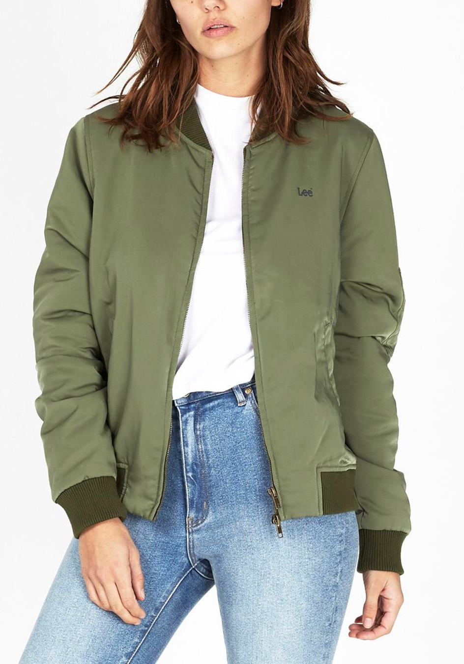 Lee heroes bomber jacket $159.95