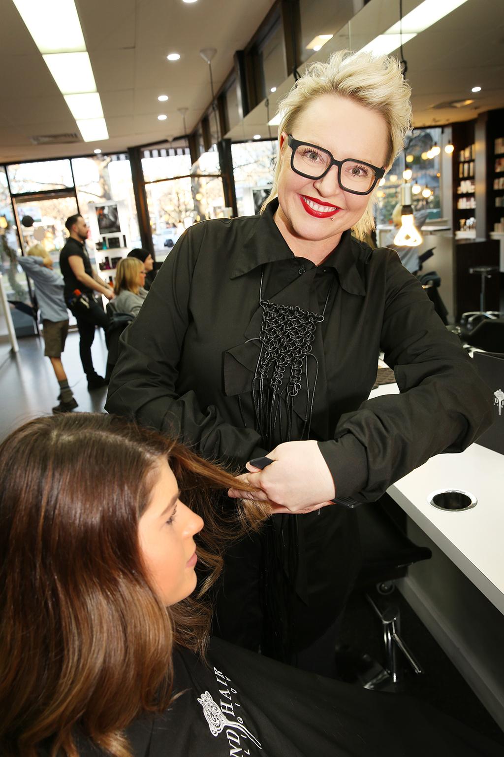 Jenni Tarrant from Bond Hair Religion