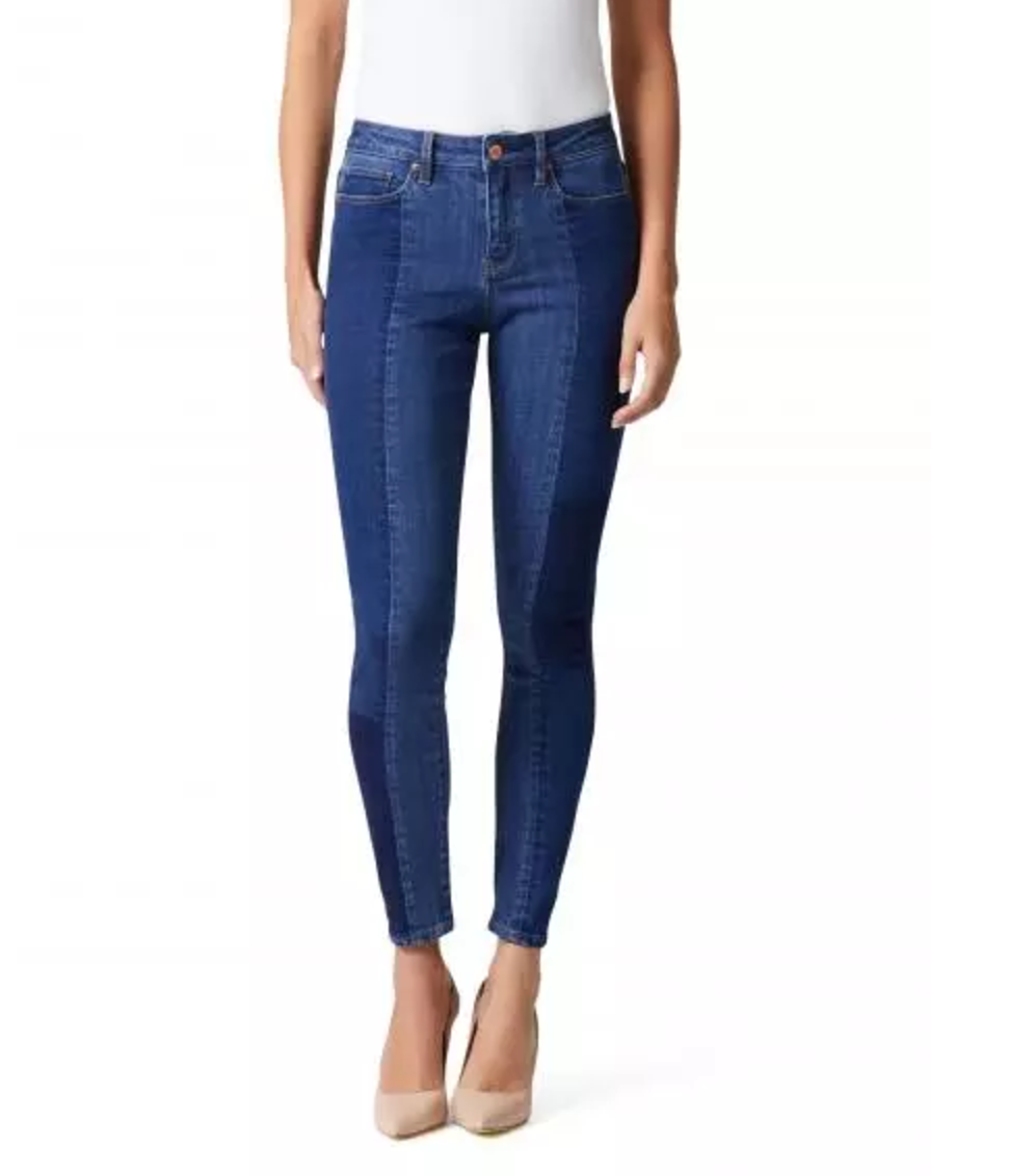 Jeanswest clover panelled skinny jeans $110