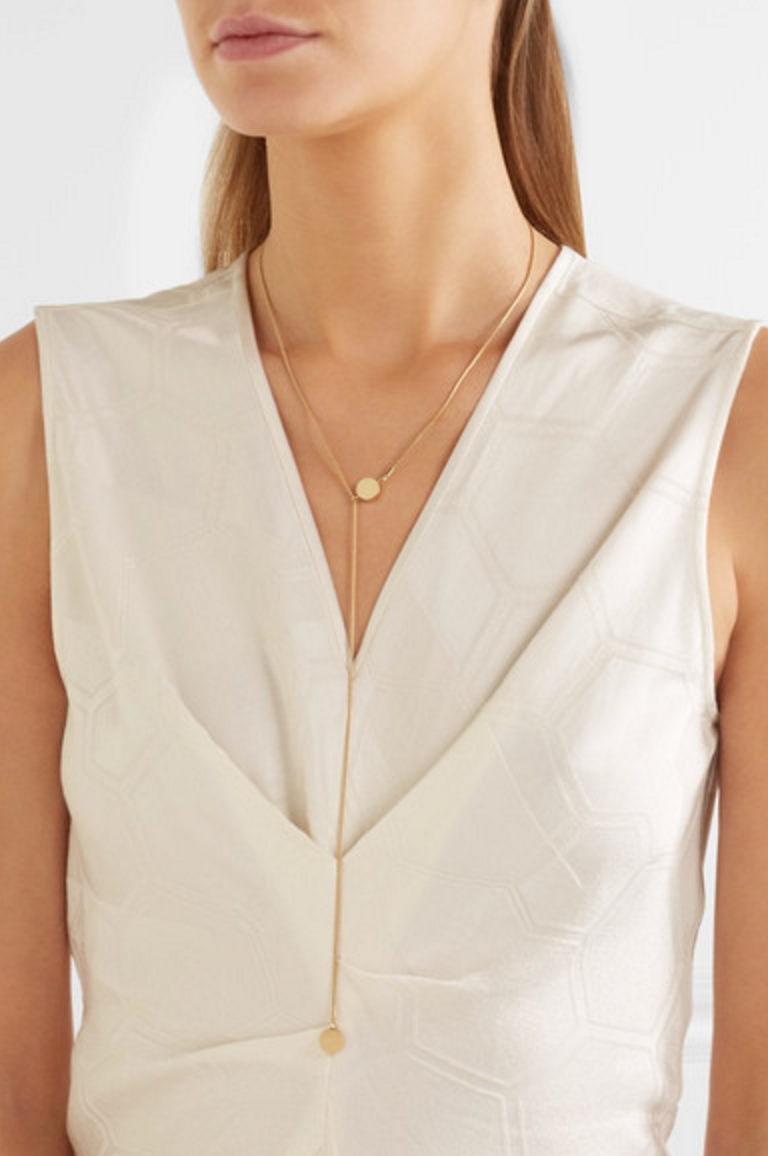Isabel Marant gold plated necklace $220