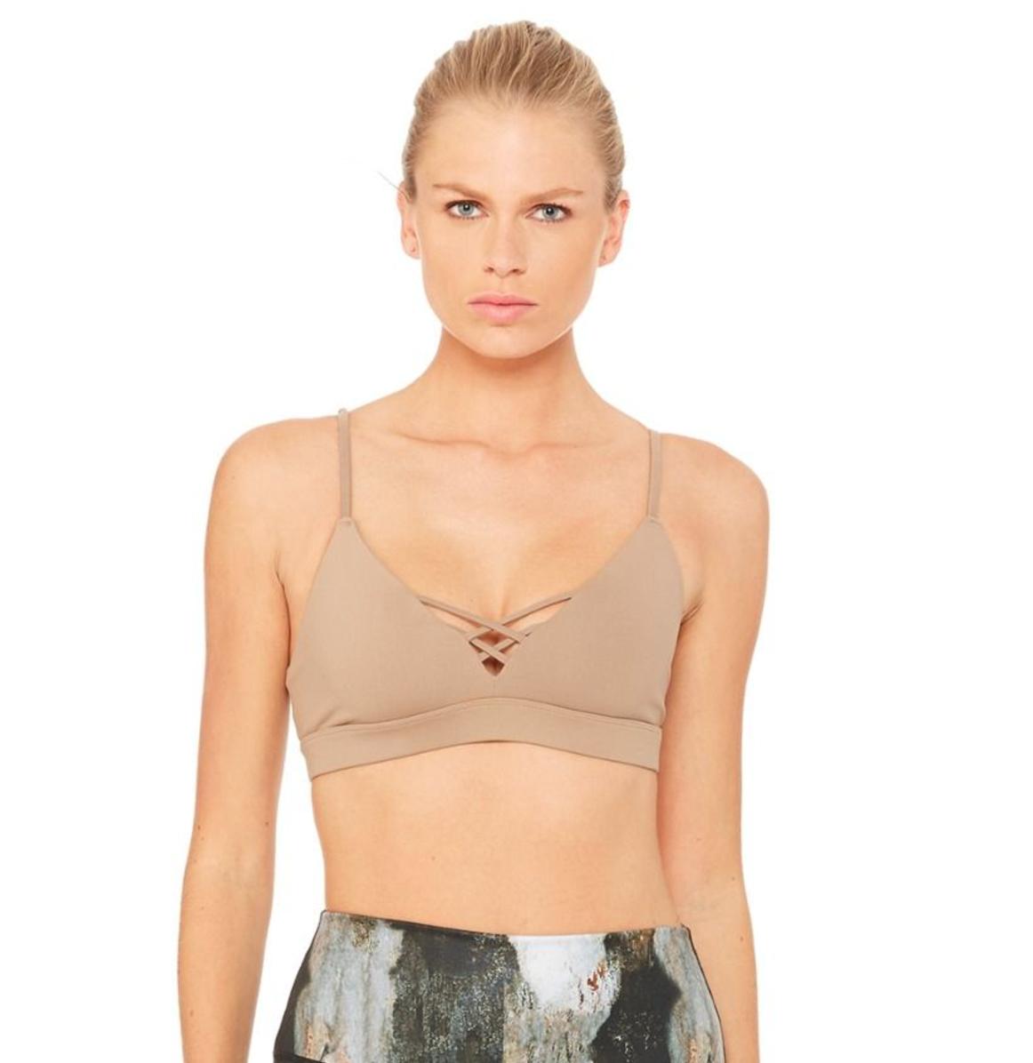 Alo Yoga interlace bra $79