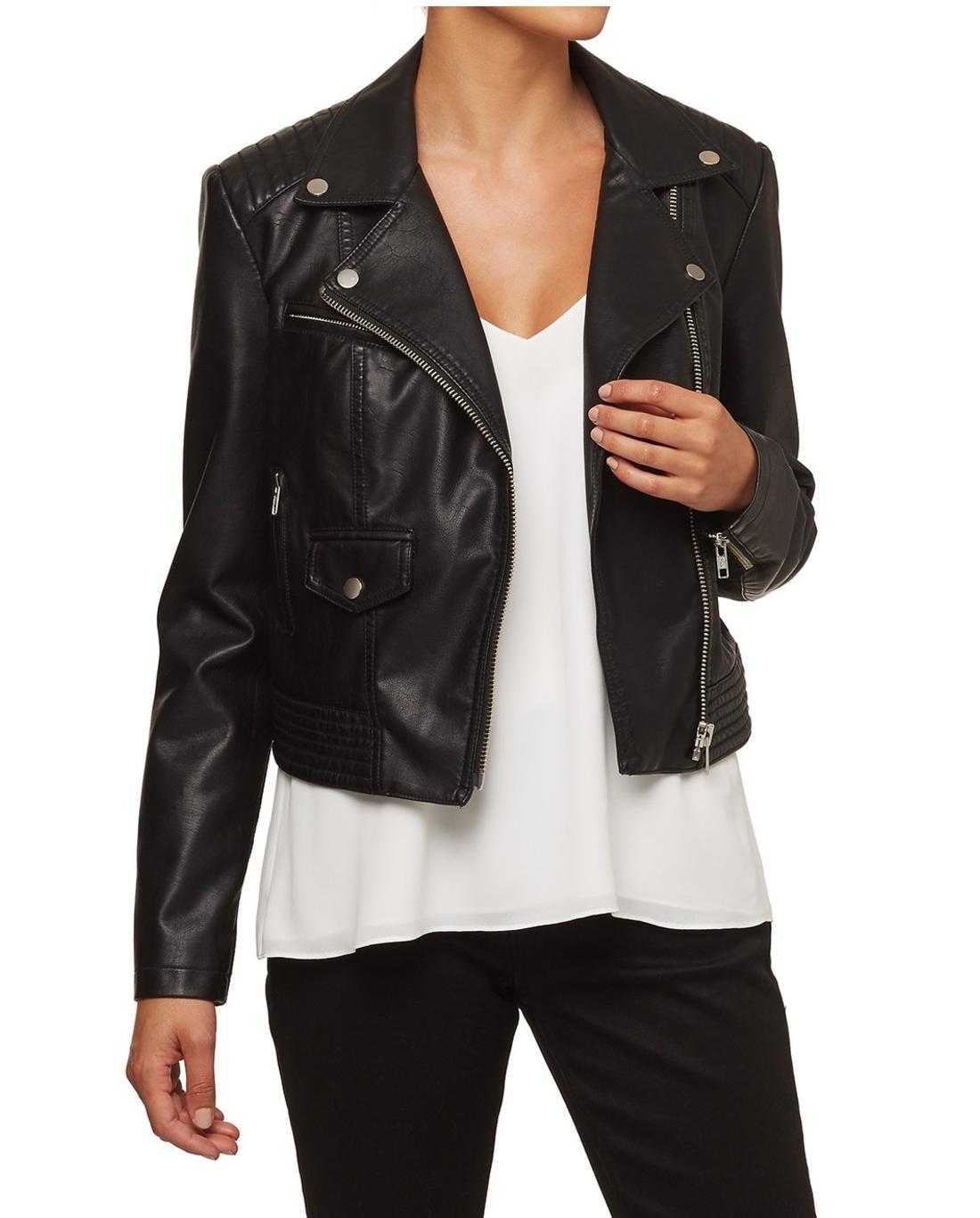 Sportsgirl PU biker jacket