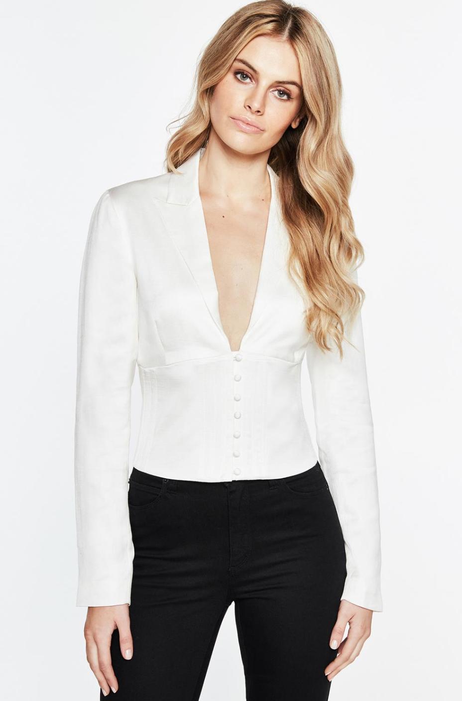 Bardot corset shirt $139.99