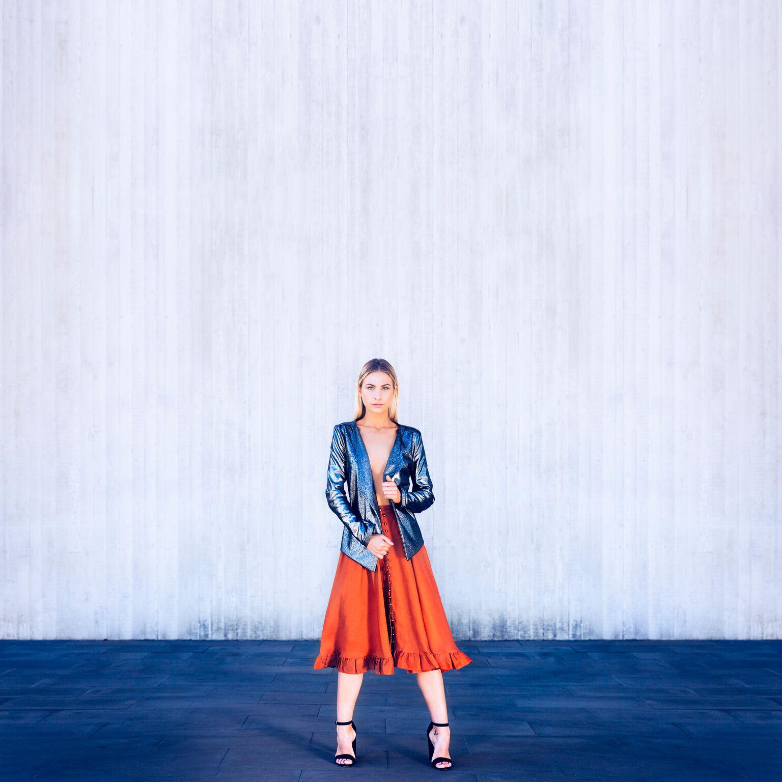 Gehrich skirt, Zilpah Tart jacket
