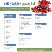 FoodNews: Healthy Holiday Shopping