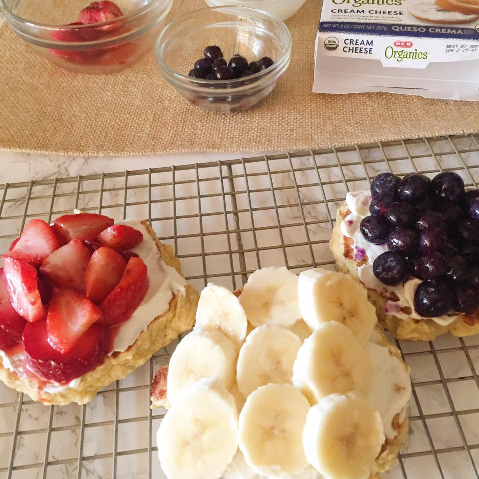 Red, White, and Blue Foods
